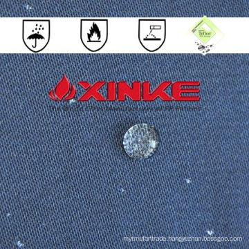 wholesale eco friendly breathable cotton waterproof fire resist fabric