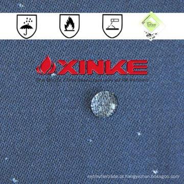Atacado eco friendly tecido de algodão respirável à prova d 'água de fogo