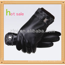 New Style,Men Wearing riding Leather Gloves