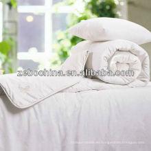 Edredón al por mayor disponible del algodón del hotel del material de relleno vendedor caliente