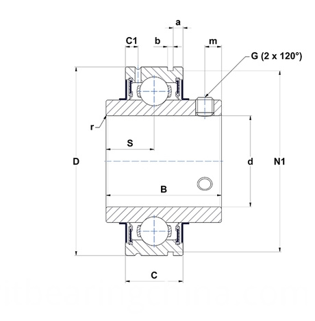 Bearing Pillow Blocks CUC200 Series