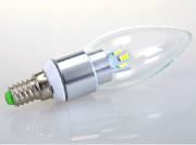 Светодиодные свечи лампы со стеклянной крышкой