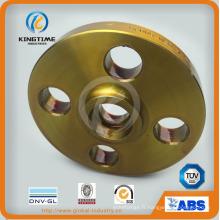Bride de Sw A105n acier carbone forgé bride avec revêtement jaune (KT0191)