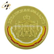 Las monedas de la reproducción británica del oro a granel del metal a granel al por mayor de encargo de la aleación