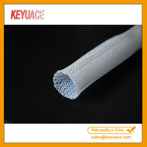 Hook dan Loop Fastener Expandable Braided Sleeving