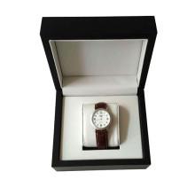 Caixa de presente de relógio de plástico de papel de arte de design exclusivo