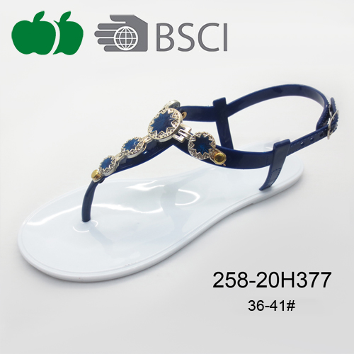 fashion lady pvc sandals