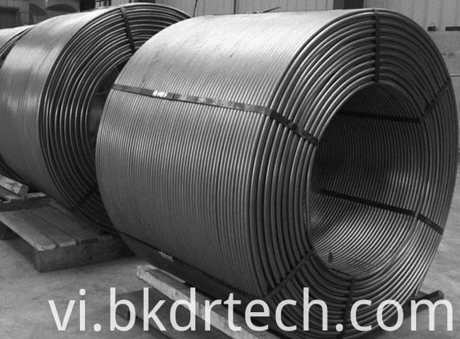 Cored Wire for Steel Making