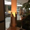 Современные качественные античные латунные постельные принадлежности Настольная лампа, проектное освещение отеля