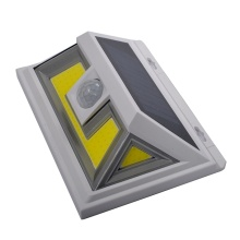 Newest 10W 18650 battery Solar Motion Sensor Light