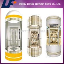 Observation Elevator Cabin for Glass Panoramic / Sightseeing / Observation Elevator