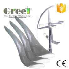 Lames verticales de turbine de vent de 2kw FRP