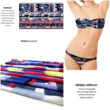 Bademode und Kleid Stoff bedruckt Polyester Spandex Jersey
