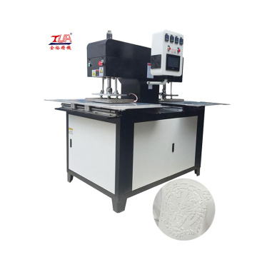 Power saving 3d embossing machine for fabric