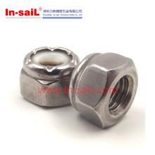 2016 heißer Verkauf China Lieferant Hex Nylon Insert Nut Hersteller