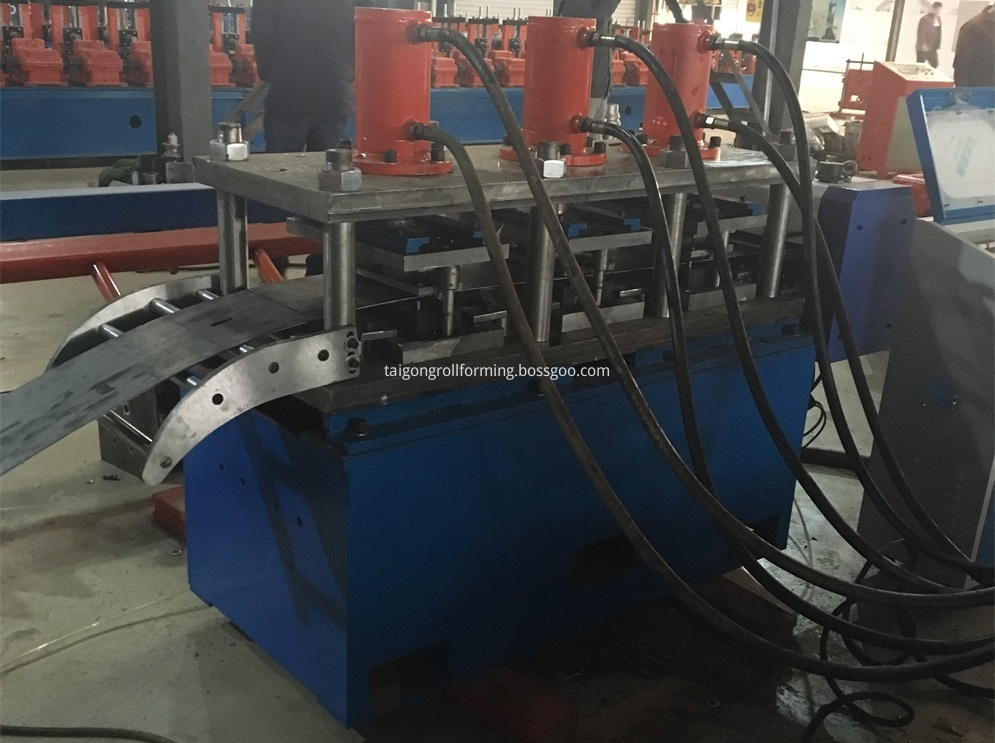 Hydraulic Cutting C Purlin Machine