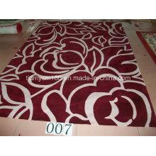 Flower Design Top Wool Carpet Rug Textile
