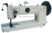 Long Arm Extra Heavy Duty Unison Feed Lockstitch Sewing Machine