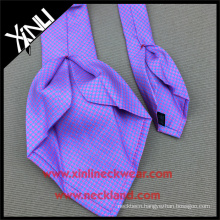 18MM Twill Handmade Screen Print Wholesale 7 Fold Silk Ties