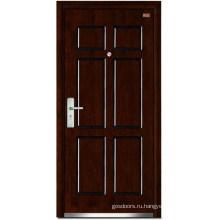 Стальные деревянные двери (LT-103)
