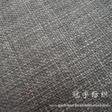 Tissu de lin d'imitation de textile à la maison pour la tapisserie d'ameublement