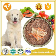 Reliable and high quality bulk wet canned food with OEM service