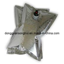 Bolsa de tinta de impresión a base de agua en caja / Bolsa de aluminio de papel líquido en caja