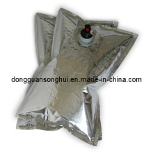 Sac à encre imprimé à base d'eau en boîte / sac en aluminium