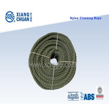 Corde d'escalade en nylon à 3 brins