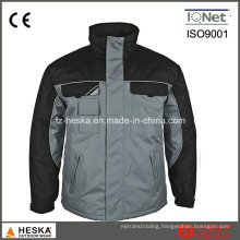 Custom Workwear Mens Waterproof Jacket Winter Parka