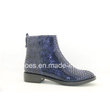 Updated Unique Designs Flat Leather Women′s Boots
