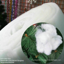 Thermal Bonded Polyester Snow Fluff for Christmas Decroation