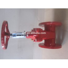 Electric cast steel Gate Valve with fire control