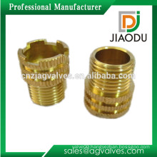 china manufacture 1/8'' or 1/4'' 3/8'' or 1/2'' or 5/8'' or 3/4'' or 1'' customized male threaded brass ppr inserts