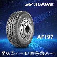 Aufine camión neumáticos 11r22.5 con punto