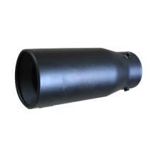 Черная выхлопная труба из нержавеющей стали