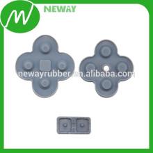 Фабричная прямая подгонка Настроить верхнюю качественную проводящую резиновую панель