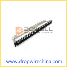 24 Port FTP patch panel unloaded module