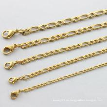 China Hersteller, 2014 Mode Gold Halskette für Männer