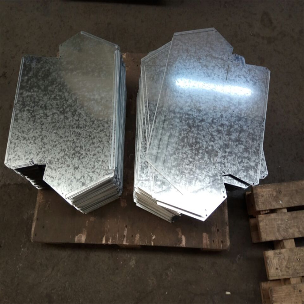 Galvanized Steel Laser Cutting Welding Service