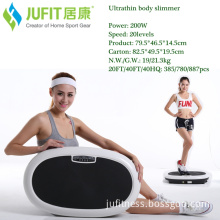 Jufit Jff018c Crazy Fit Massage with LED Screen and CE Approval Fitness Ultra Thin Vibration Machine