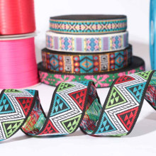 Custom jaquard fabric ribbon