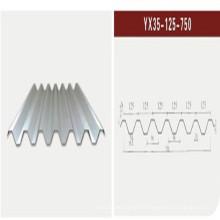 Feuille d'acier ondulé / tôle d'acier au toit (XGZ-22)