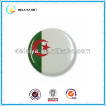 The Algeria flag tin badges