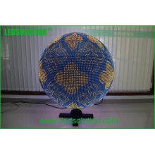 Bola esférica da tela do diodo emissor de luz da bola do diodo emissor de luz de Ledsolution P10