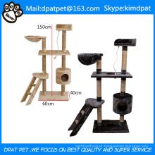 Tipo de brinquedos para animais de estimação e aplicação de gatos Atacado Happy Pet Cat Tree