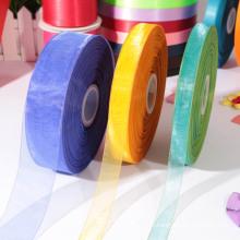 Новый полиэфир 100% чистый шелк лента / органза ленты образца бесплатно