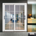 Melhor qualidade usado de alumínio portas de vidro deslizantes venda quente nas Filipinas