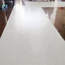 Alfombrillas de fieltro de poliéster blanco de pintor de alta calidad no tejido de piso base