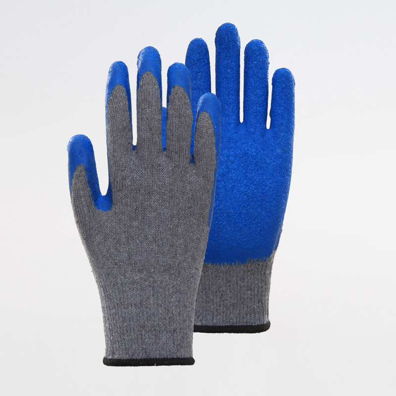 Latex Coated Gloves Work Protective